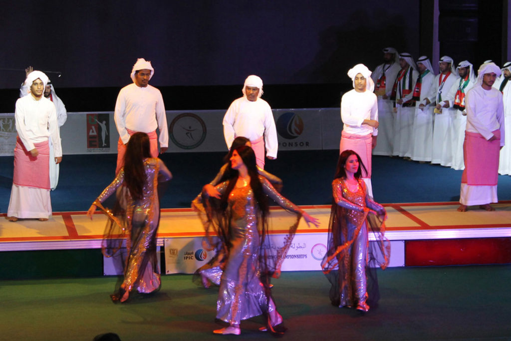 Arabic folk dance